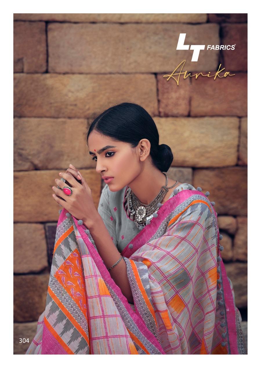 Lt Fabrics Aurika Saree Sari Wholesale Catalog 10 Pcs 8 - Lt Fabrics Aurika Saree Sari Wholesale Catalog 10 Pcs