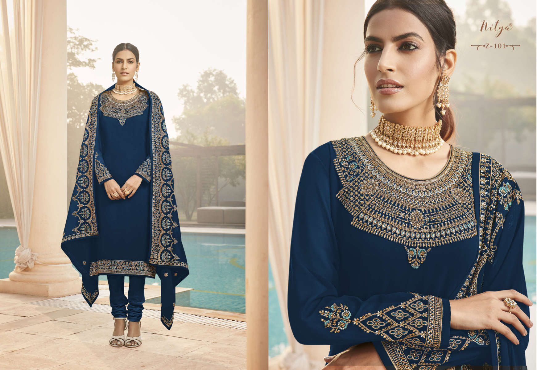 Lt Fabrics Nitya Zyrah Salwar Suit Wholesale Catalog 5 Pcs 2 1 - Lt Fabrics Nitya Zyrah Salwar Suit Wholesale Catalog 5 Pcs