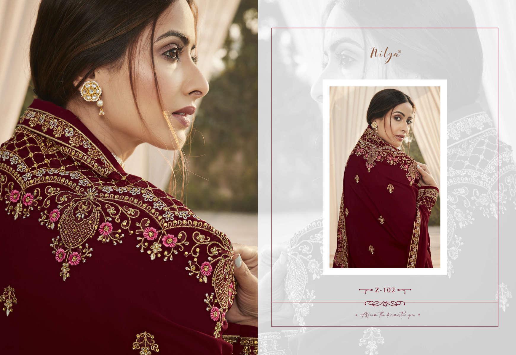 Lt Fabrics Nitya Zyrah Salwar Suit Wholesale Catalog 5 Pcs 3 1 - Lt Fabrics Nitya Zyrah Salwar Suit Wholesale Catalog 5 Pcs
