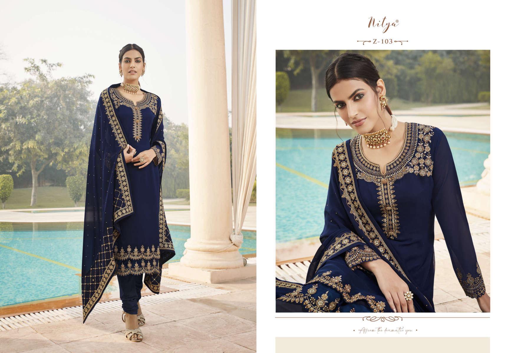 Lt Fabrics Nitya Zyrah Salwar Suit Wholesale Catalog 5 Pcs 6 1 - Lt Fabrics Nitya Zyrah Salwar Suit Wholesale Catalog 5 Pcs