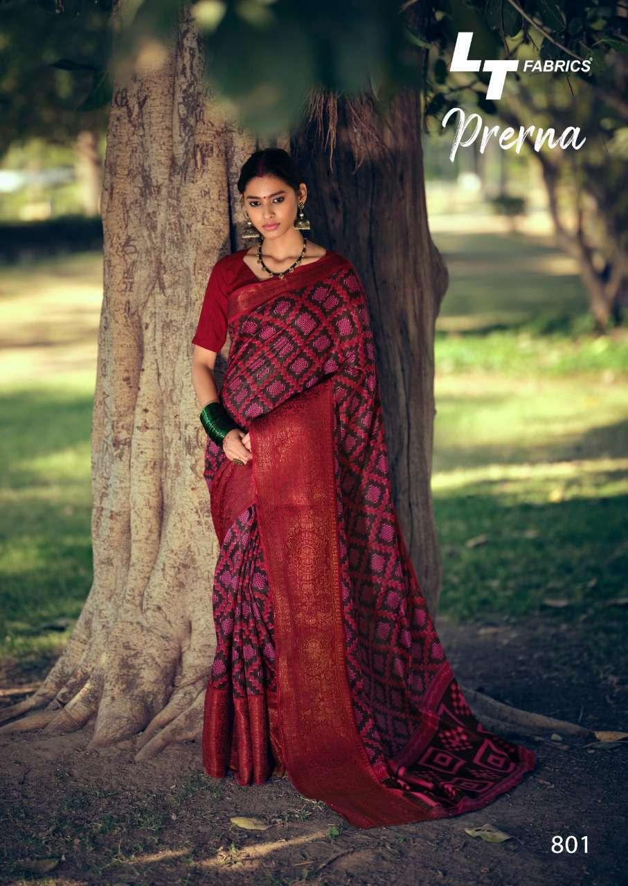 Lt Fabrics Prerna Saree Sari Wholesale Catalog 10 Pcs 1 - Lt Fabrics Prerna Saree Sari Wholesale Catalog 10 Pcs
