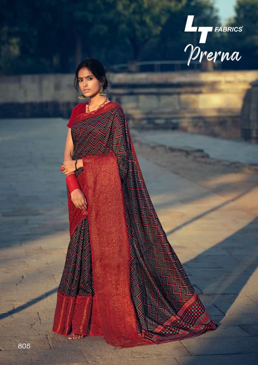 Lt Fabrics Prerna Saree Sari Wholesale Catalog 10 Pcs 11 - Lt Fabrics Prerna Saree Sari Wholesale Catalog 10 Pcs