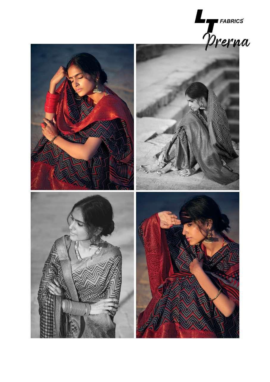 Lt Fabrics Prerna Saree Sari Wholesale Catalog 10 Pcs 13 - Lt Fabrics Prerna Saree Sari Wholesale Catalog 10 Pcs
