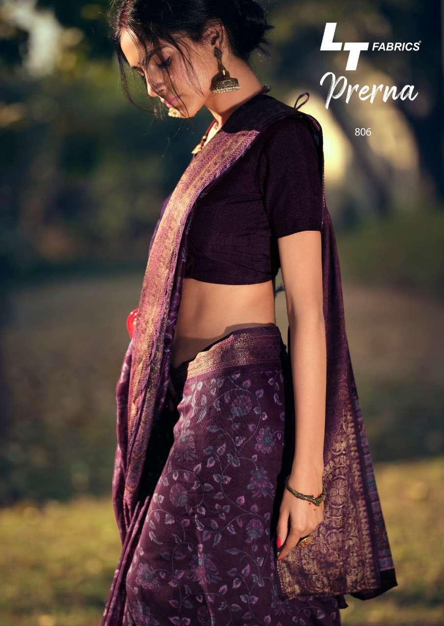 Lt Fabrics Prerna Saree Sari Wholesale Catalog 10 Pcs 16 - Lt Fabrics Prerna Saree Sari Wholesale Catalog 10 Pcs