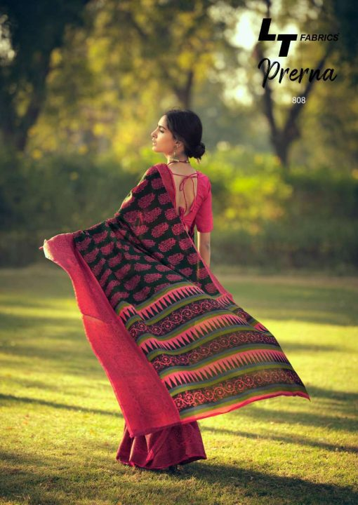 Lt Fabrics Prerna Saree Sari Wholesale Catalog 10 Pcs 19 510x720 - Lt Fabrics Prerna Saree Sari Wholesale Catalog 10 Pcs