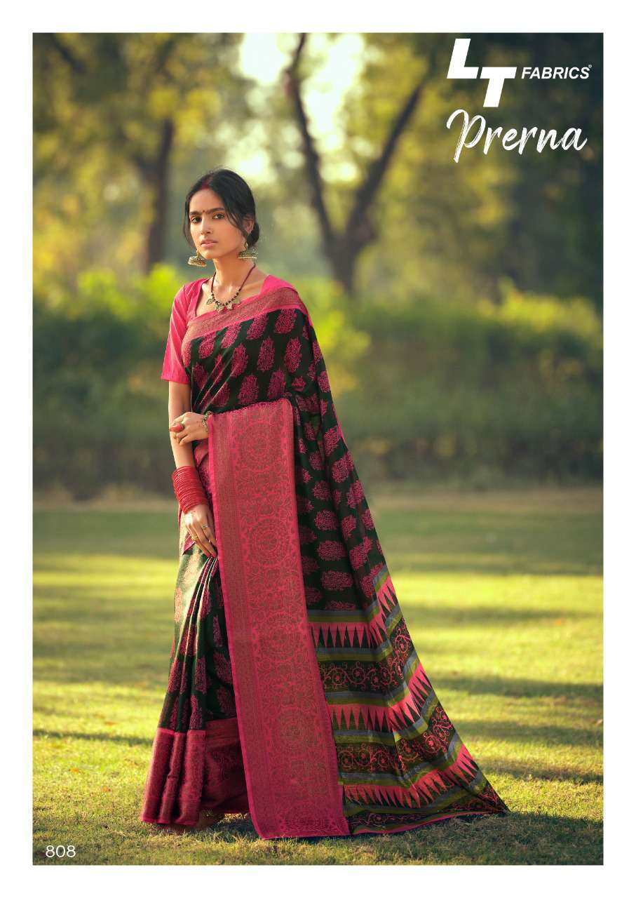 Lt Fabrics Prerna Saree Sari Wholesale Catalog 10 Pcs 20 - Lt Fabrics Prerna Saree Sari Wholesale Catalog 10 Pcs