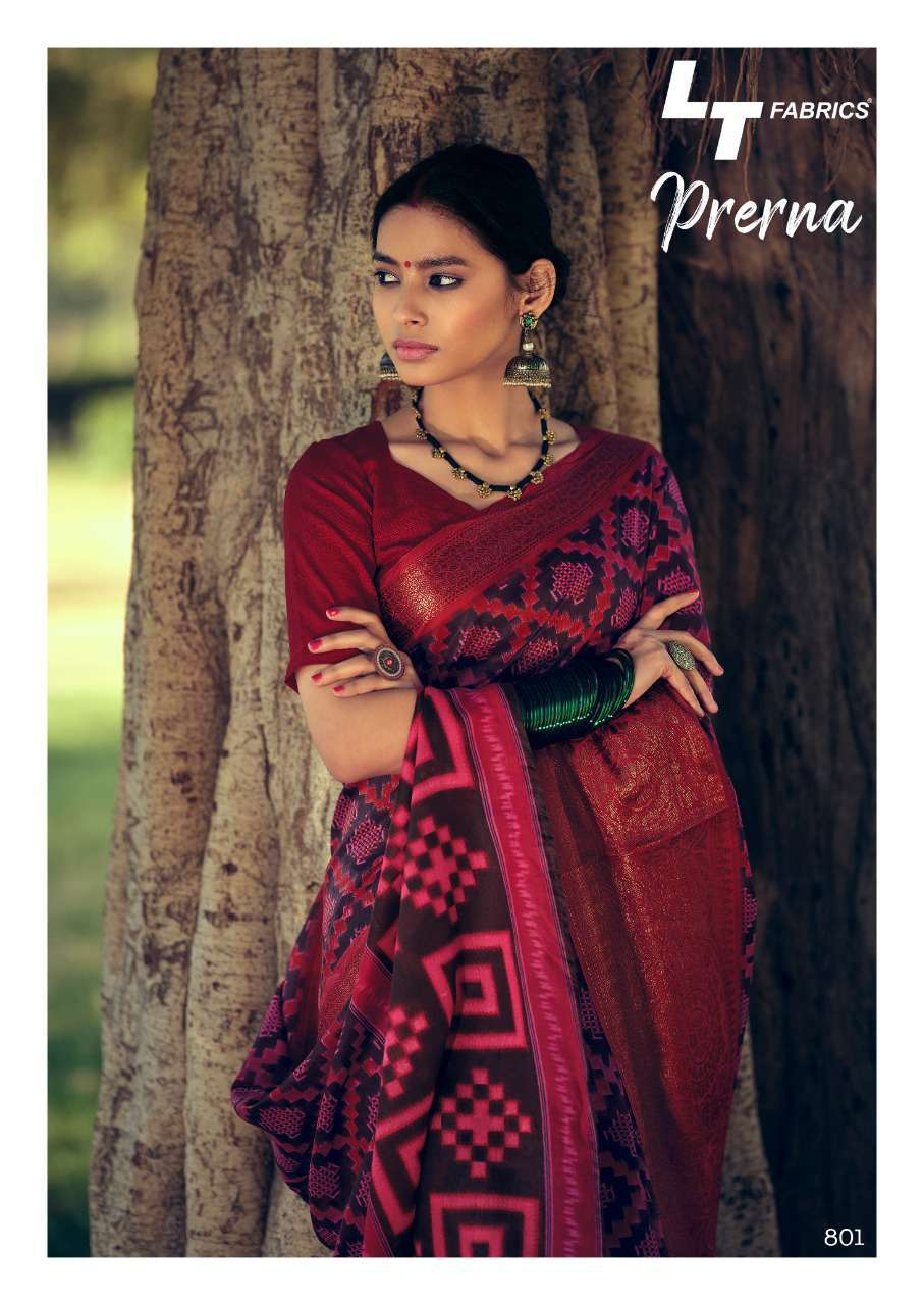 Lt Fabrics Prerna Saree Sari Wholesale Catalog 10 Pcs 4 - Lt Fabrics Prerna Saree Sari Wholesale Catalog 10 Pcs