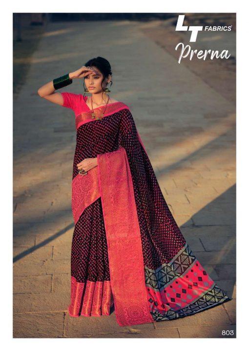 Lt Fabrics Prerna Saree Sari Wholesale Catalog 10 Pcs 5 510x720 - Lt Fabrics Prerna Saree Sari Wholesale Catalog 10 Pcs