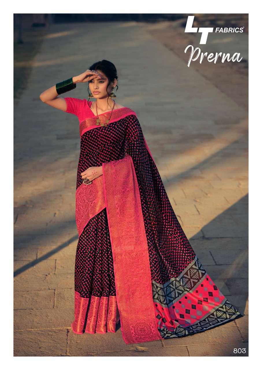 Lt Fabrics Prerna Saree Sari Wholesale Catalog 10 Pcs 5 - Lt Fabrics Prerna Saree Sari Wholesale Catalog 10 Pcs