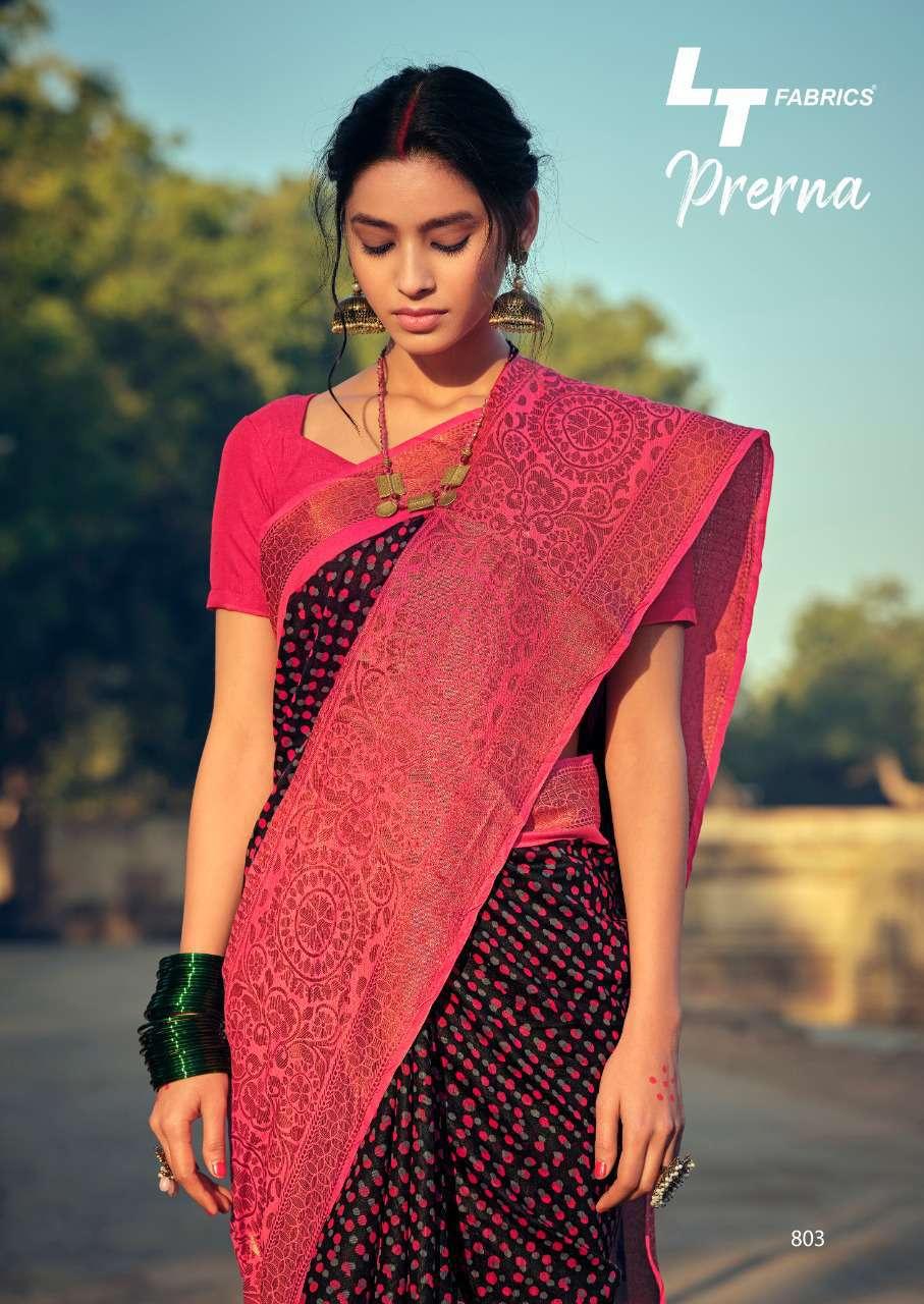 Lt Fabrics Prerna Saree Sari Wholesale Catalog 10 Pcs 6 - Lt Fabrics Prerna Saree Sari Wholesale Catalog 10 Pcs