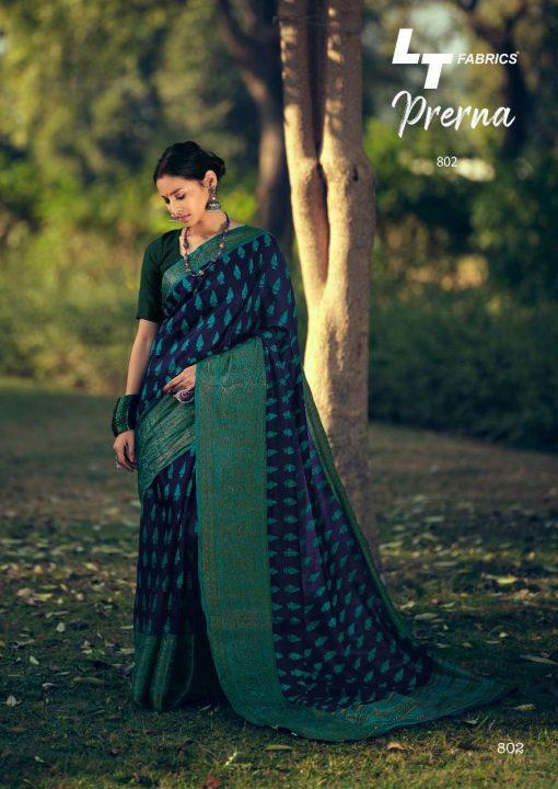 Lt Fabrics Prerna Saree Sari Wholesale Catalog 10 Pcs 7 510x720 - Lt Fabrics Prerna Saree Sari Wholesale Catalog 10 Pcs