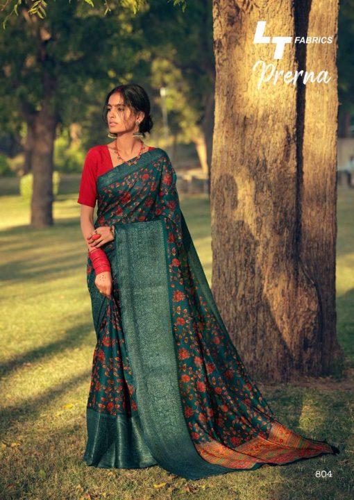 Lt Fabrics Prerna Saree Sari Wholesale Catalog 10 Pcs 8 510x720 - Lt Fabrics Prerna Saree Sari Wholesale Catalog 10 Pcs
