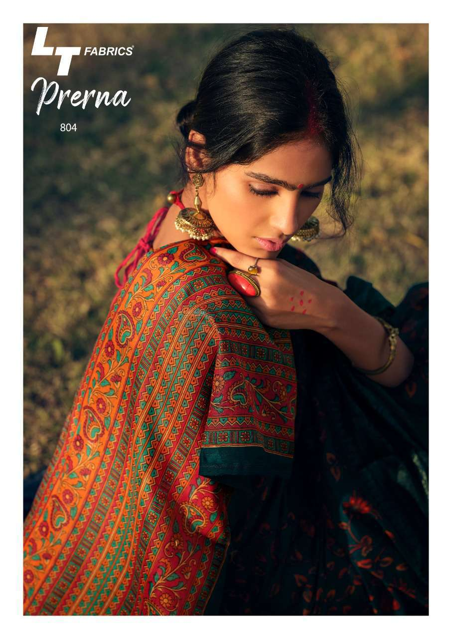 Lt Fabrics Prerna Saree Sari Wholesale Catalog 10 Pcs 9 - Lt Fabrics Prerna Saree Sari Wholesale Catalog 10 Pcs