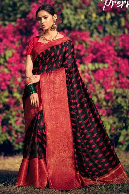 Lt Fabrics Prerna Saree Sari Wholesale Catalog 10 Pcs