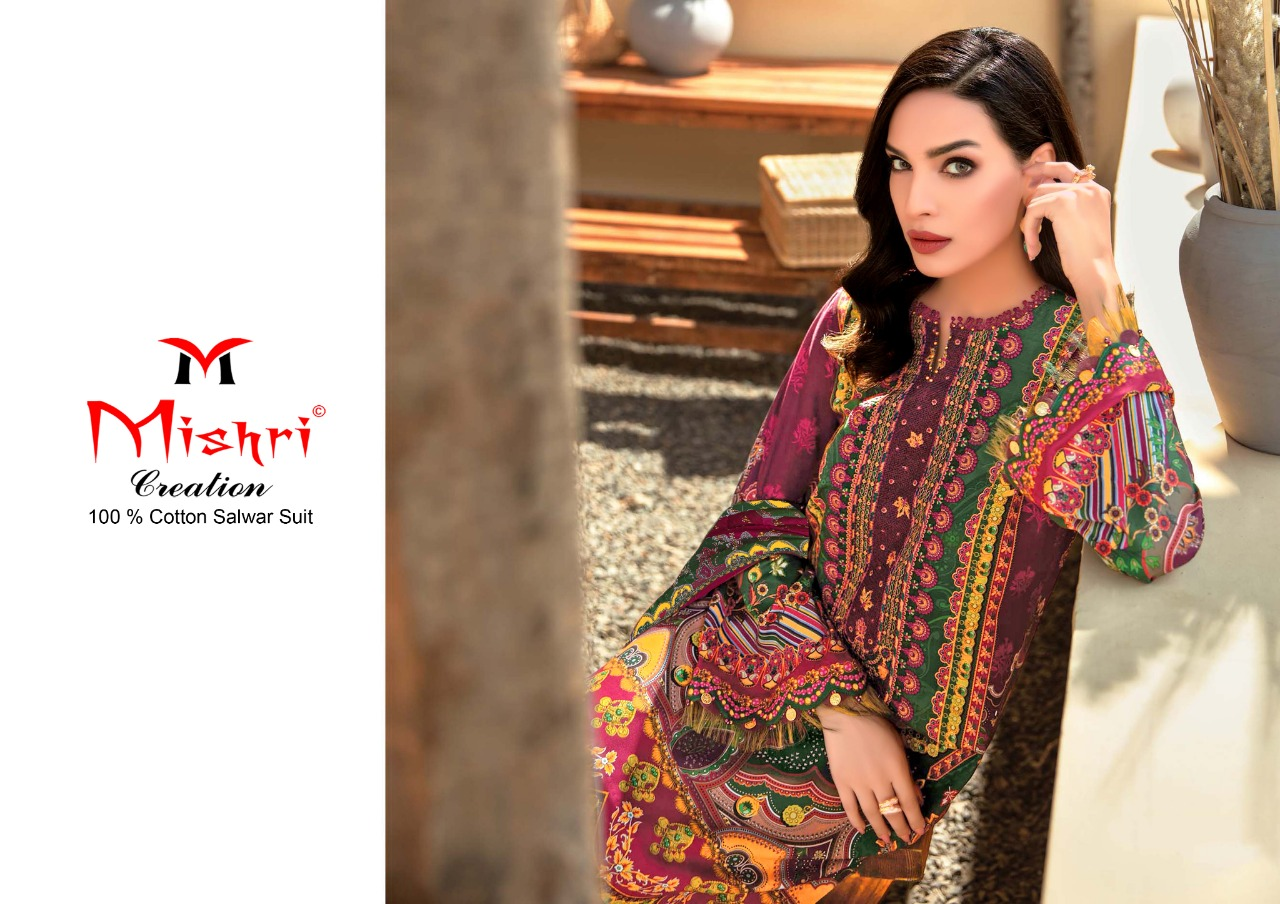 Mishri Gulbagh Vol 2 Salwar Suit Wholesale Catalog 10 Pcs 1 - Mishri Gulbagh Vol 2 Salwar Suit Wholesale Catalog 10 Pcs