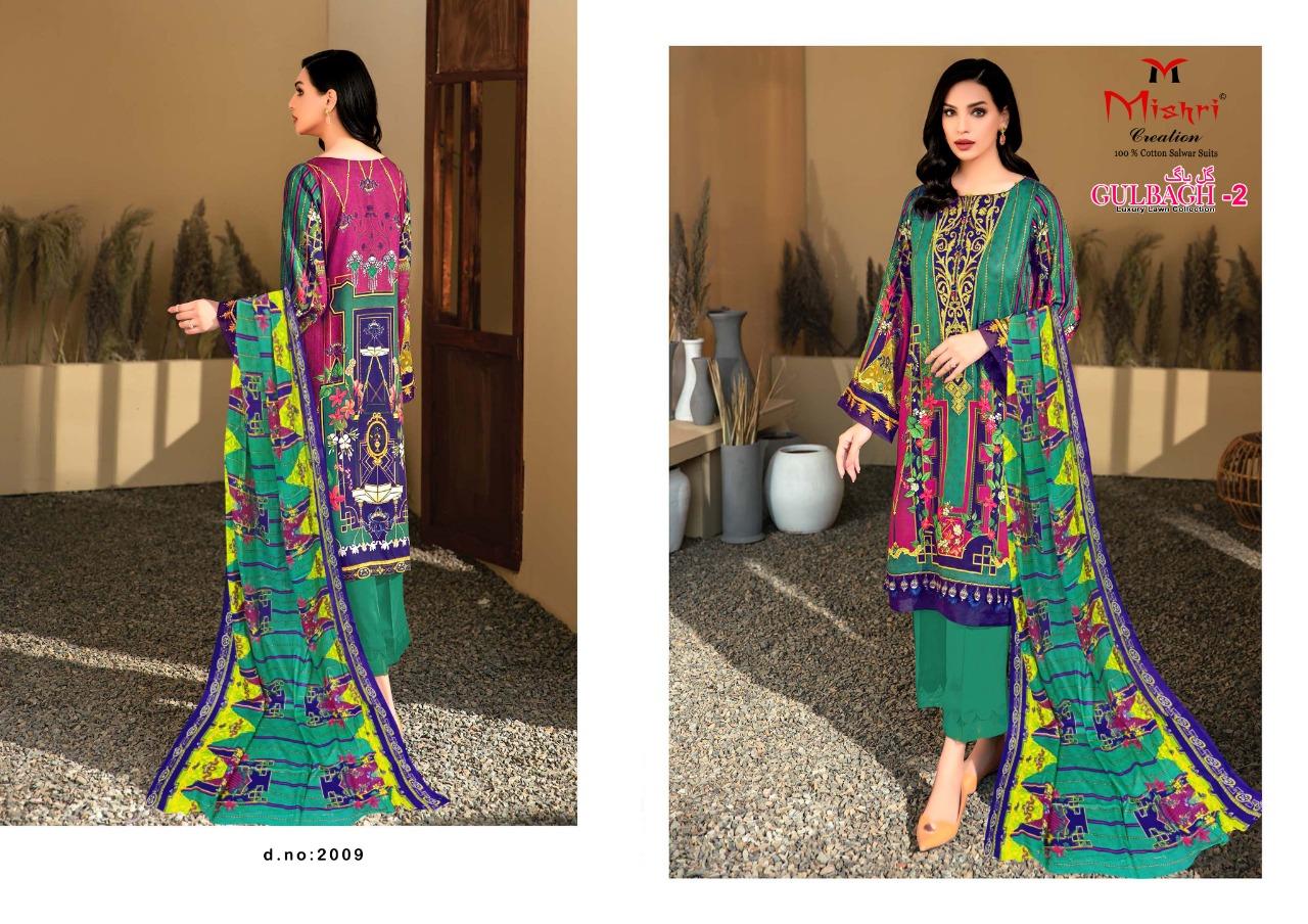 Mishri Gulbagh Vol 2 Salwar Suit Wholesale Catalog 10 Pcs 9 - Mishri Gulbagh Vol 2 Salwar Suit Wholesale Catalog 10 Pcs