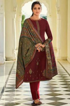 Mumtaz Arts Jamawar Lawn Salwar Suit Wholesale Catalog 10 Pcs