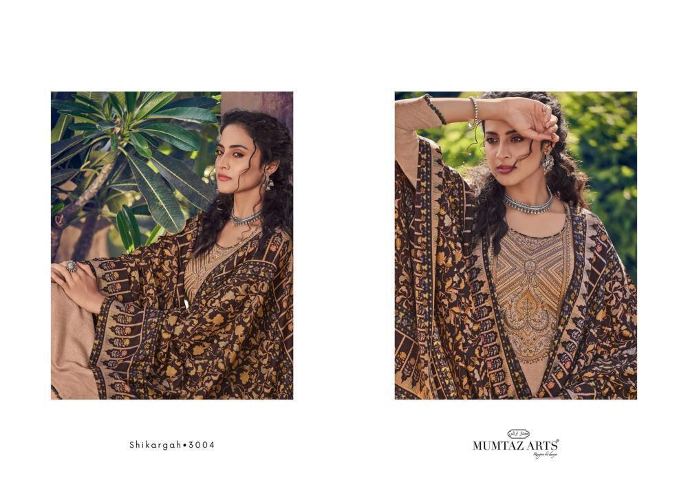 Mumtaz Arts Shikargah Karachi Salwar Suit Wholesale Catalog 5 Pcs 14 - Mumtaz Arts Shikargah Karachi Salwar Suit Wholesale Catalog 5 Pcs