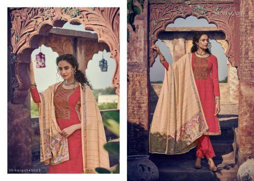 Mumtaz Arts Shikargah Karachi Salwar Suit Wholesale Catalog 5 Pcs 2 510x364 - Mumtaz Arts Shikargah Karachi Salwar Suit Wholesale Catalog 5 Pcs
