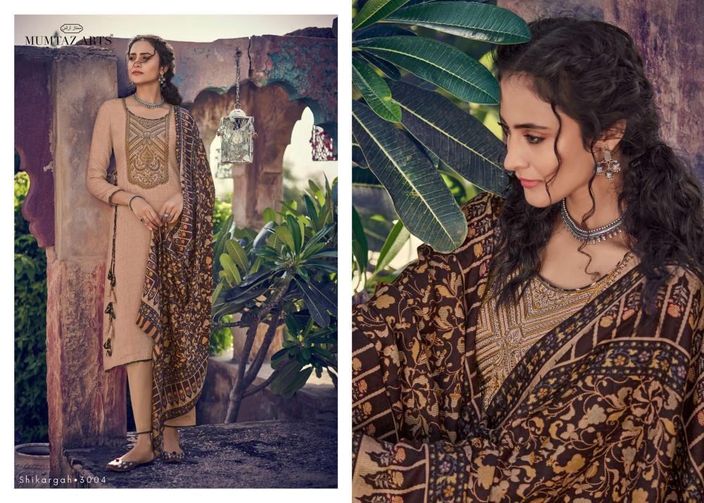 Mumtaz Arts Shikargah Karachi Salwar Suit Wholesale Catalog 5 Pcs 4 - Mumtaz Arts Shikargah Karachi Salwar Suit Wholesale Catalog 5 Pcs