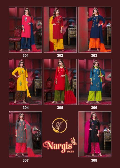 Nargis Vol 3 Kurti with Dupatta Bottom Wholesale Catalog 8 Pcs 11 510x714 - Nargis Vol 3 Kurti with Dupatta Bottom Wholesale Catalog 8 Pcs