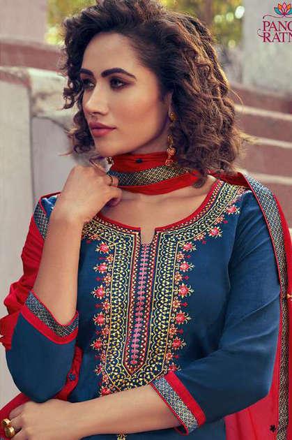 Panch Ratna Mahira by Kessi Salwar Suit Wholesale Catalog 5 Pcs - Panch Ratna Mahira by Kessi Salwar Suit Wholesale Catalog 5 Pcs