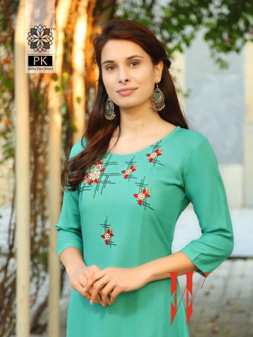 Pk Fashion Star Vol 1 Kurti Wholesale Catalog 10 Pcs 2 510x680 - Pk Fashion Star Vol 1 Kurti Wholesale Catalog 10 Pcs