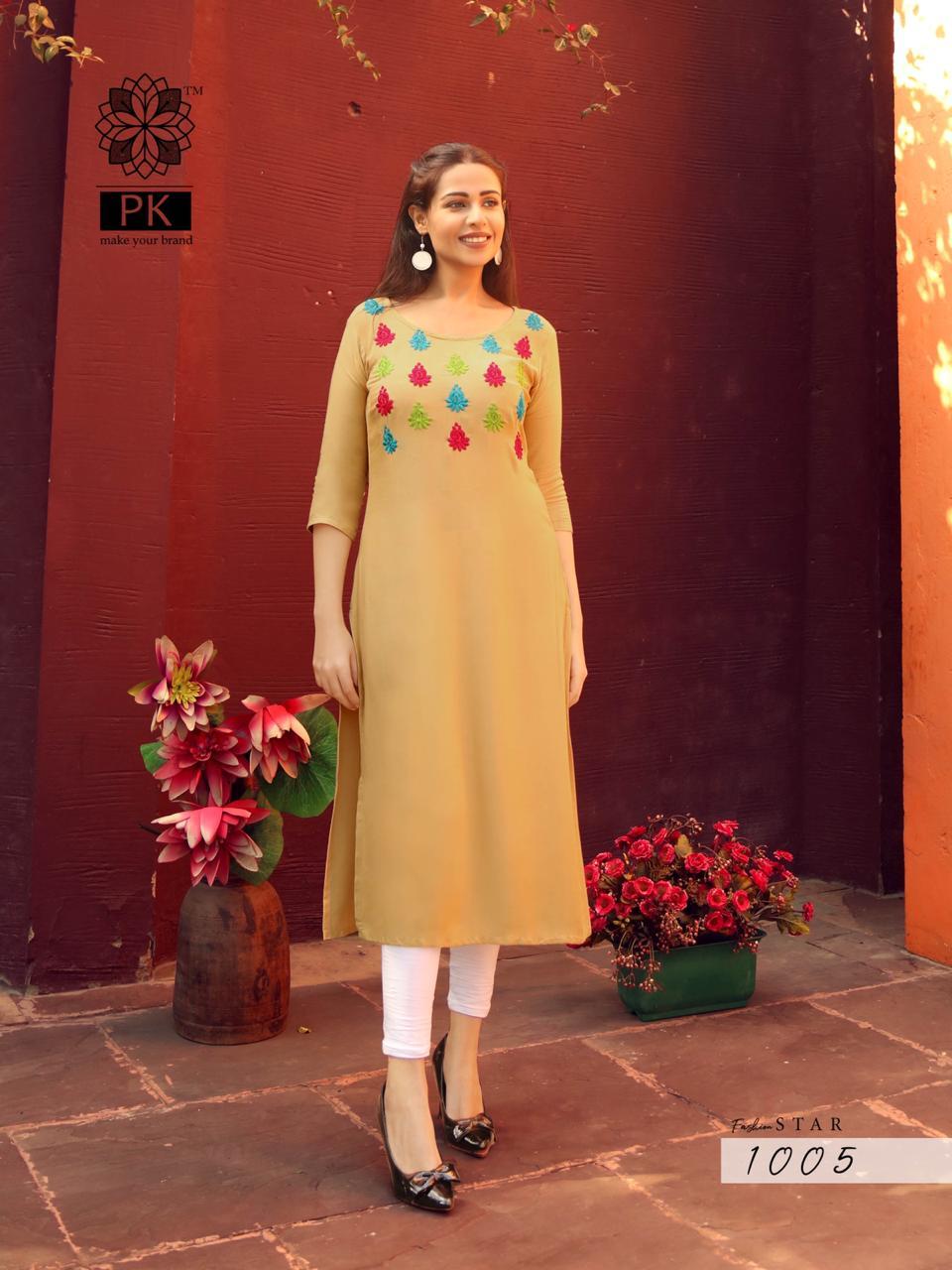 Pk Fashion Star Vol 1 Kurti Wholesale Catalog 10 Pcs 6 - Pk Fashion Star Vol 1 Kurti Wholesale Catalog 10 Pcs