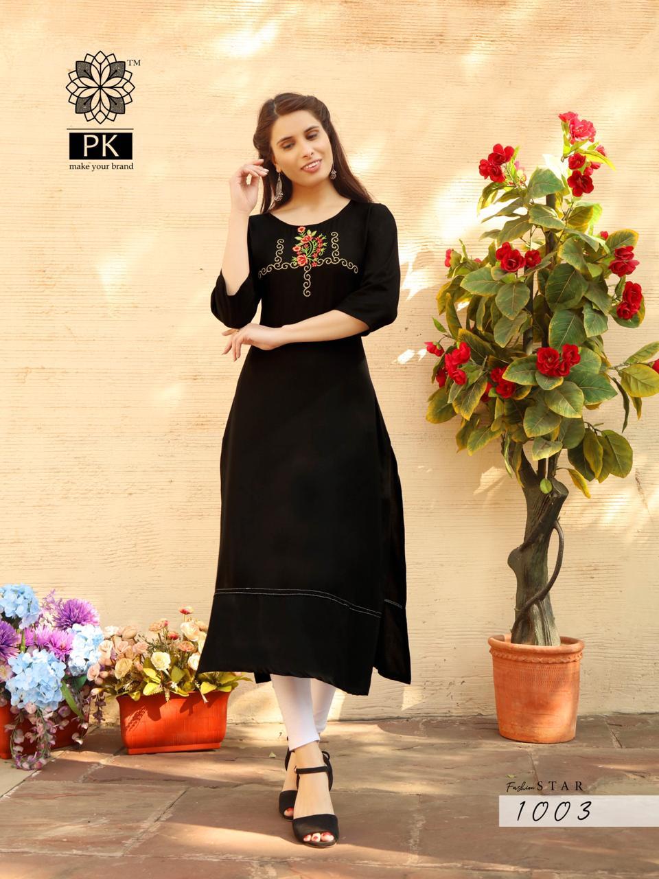 Pk Fashion Star Vol 1 Kurti Wholesale Catalog 10 Pcs 8 - Pk Fashion Star Vol 1 Kurti Wholesale Catalog 10 Pcs