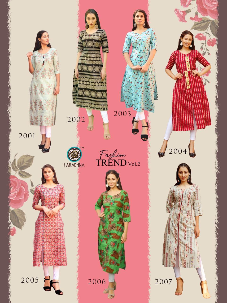Pk Fashion Trend Vol 2 Kurti Wholesale Catalog 7 Pcs 10 - Pk Fashion Trend Vol 2 Kurti Wholesale Catalog 7 Pcs