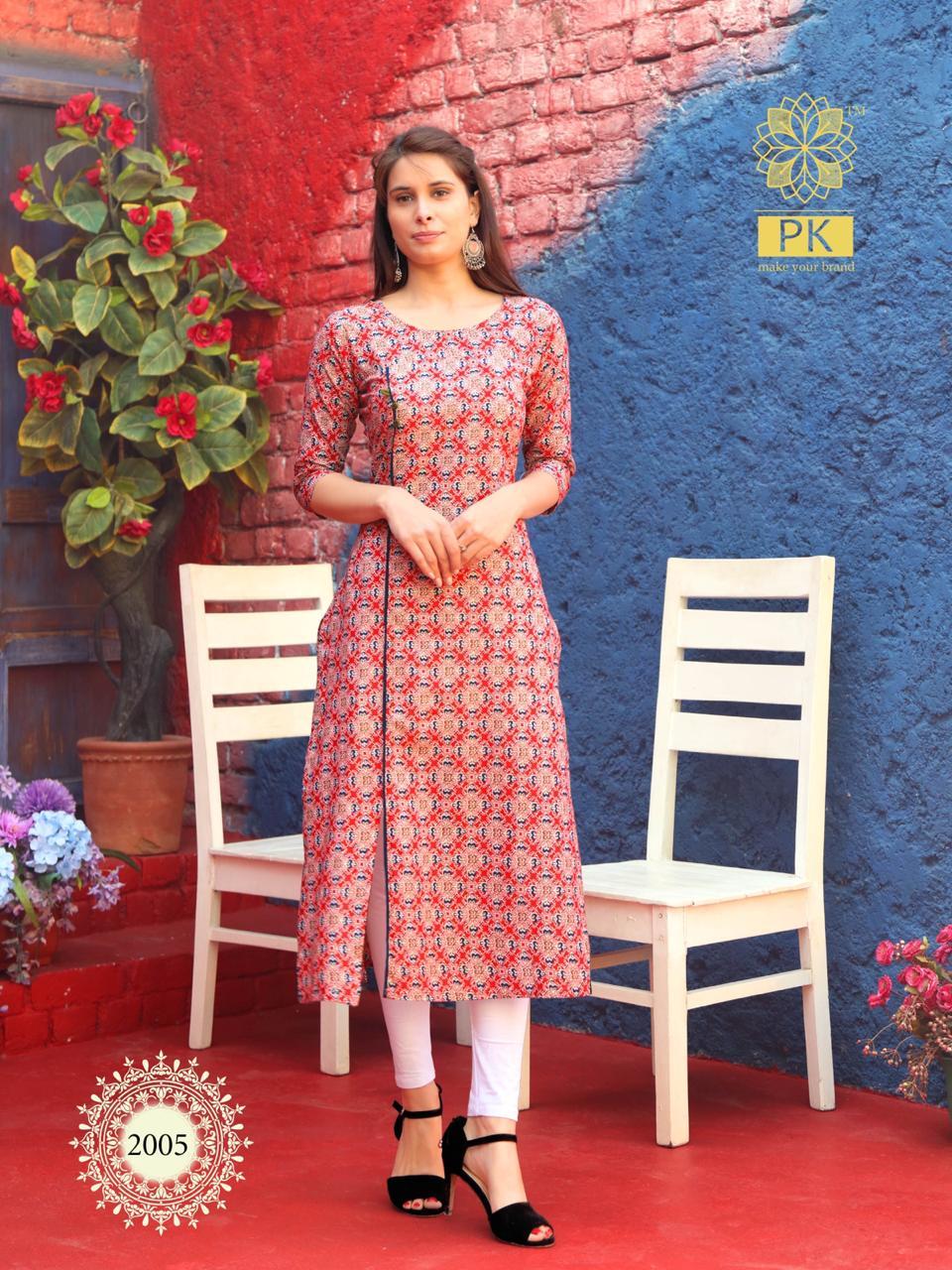Pk Fashion Trend Vol 2 Kurti Wholesale Catalog 7 Pcs 6 - Pk Fashion Trend Vol 2 Kurti Wholesale Catalog 7 Pcs