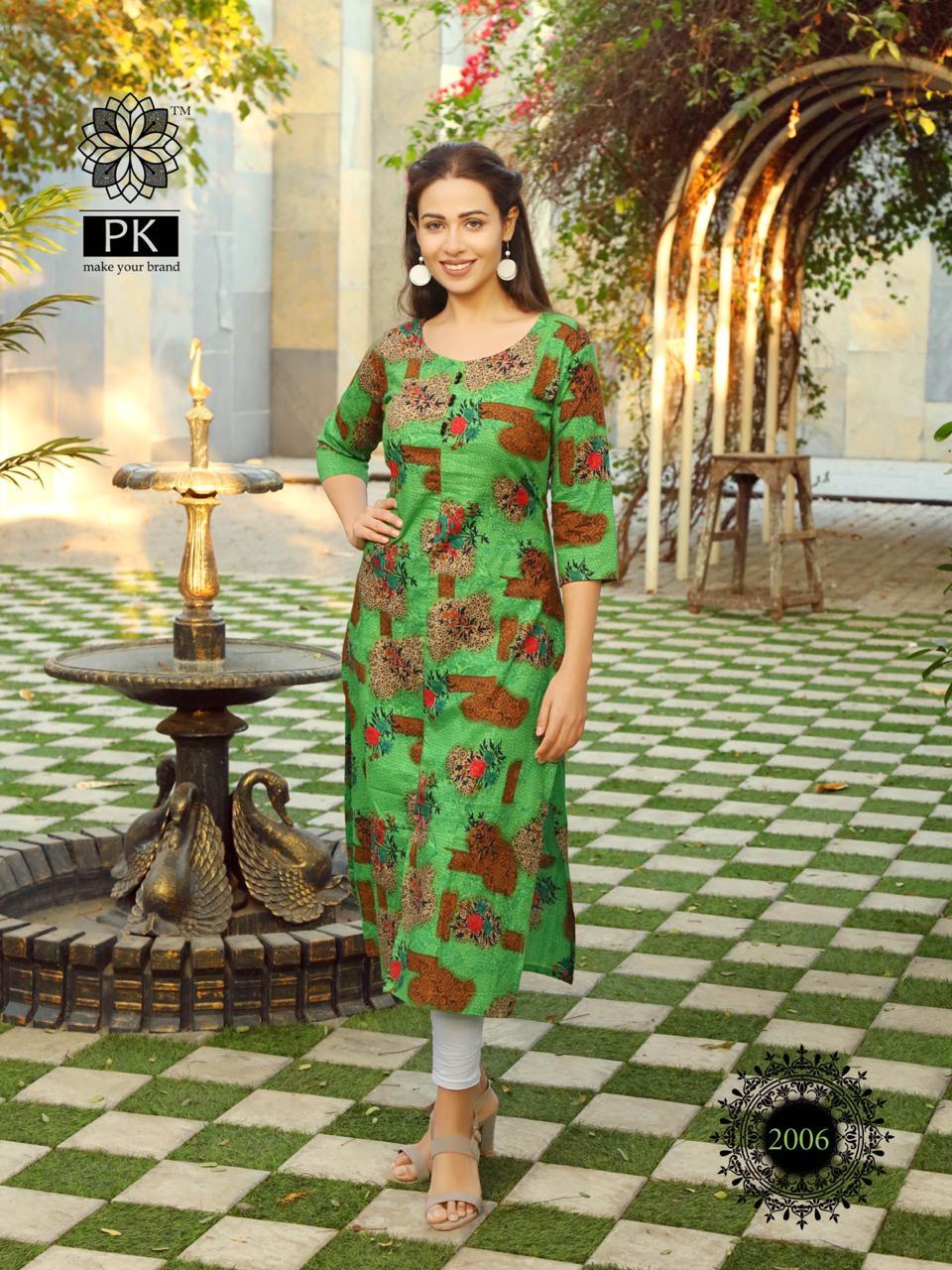 Pk Fashion Trend Vol 2 Kurti Wholesale Catalog 7 Pcs 7 - Pk Fashion Trend Vol 2 Kurti Wholesale Catalog 7 Pcs