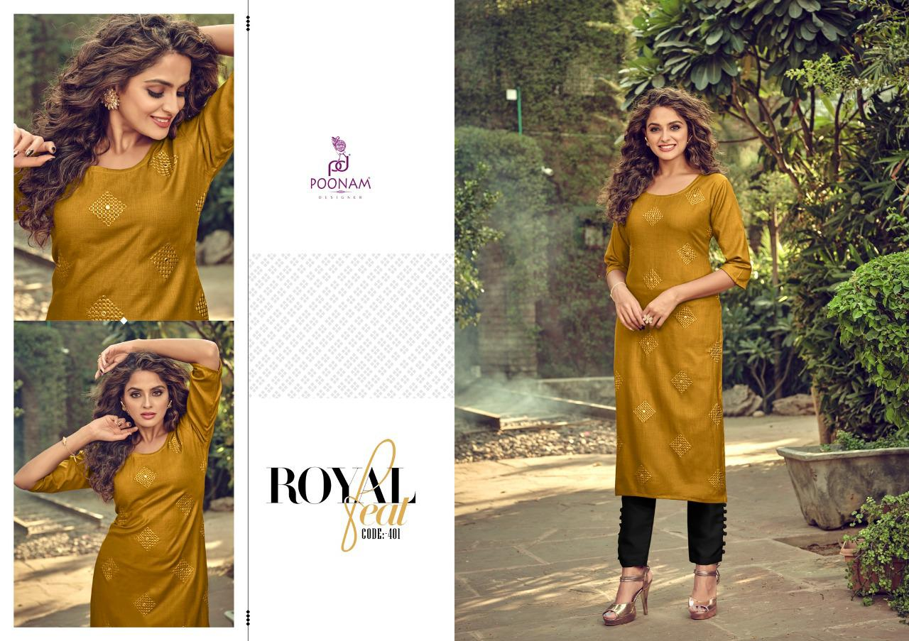 Poonam Designer Asiana Vol 4 Kurti Wholesale Catalog 12 Pcs 1 - Poonam Designer Asiana Vol 4 Kurti Wholesale Catalog 12 Pcs