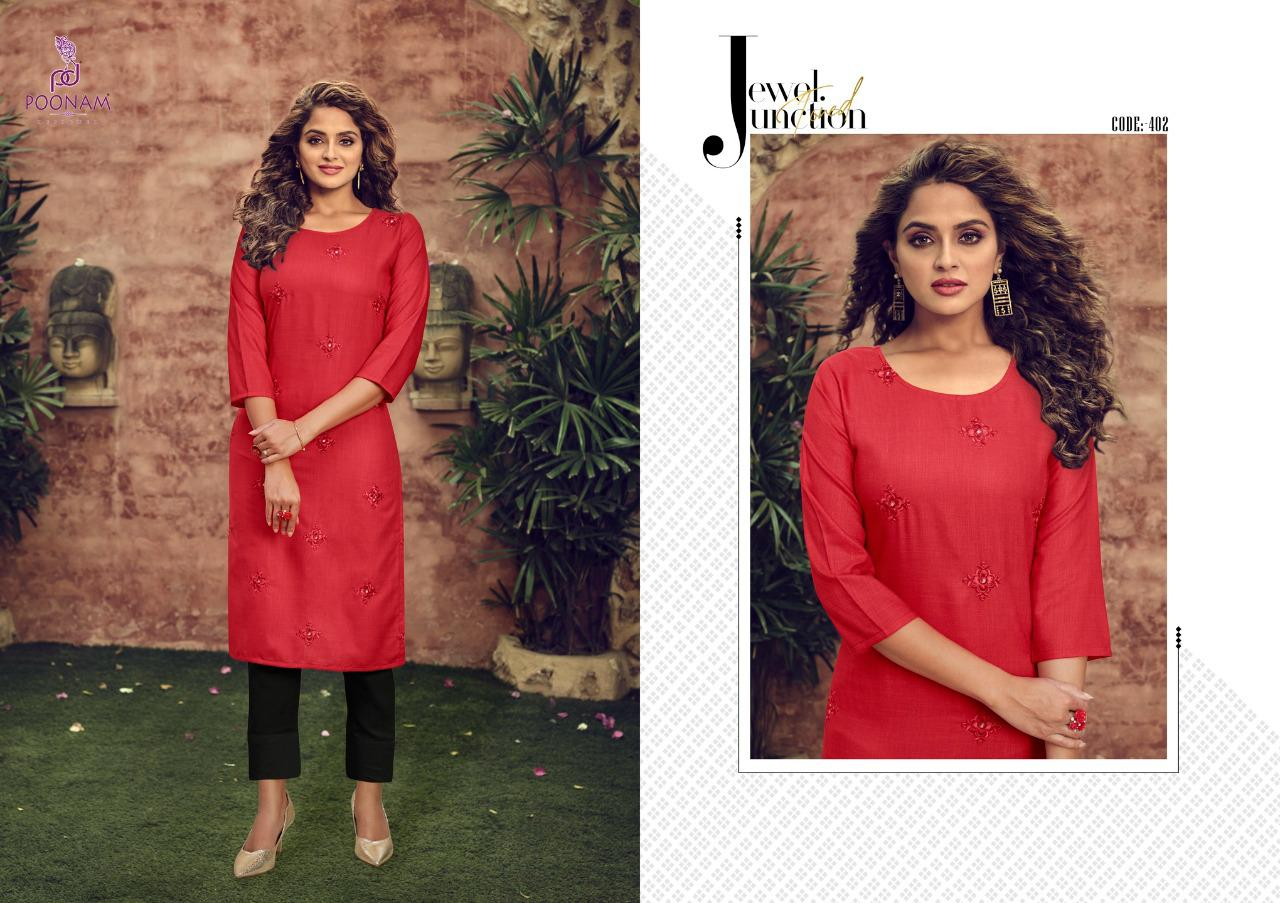 Poonam Designer Asiana Vol 4 Kurti Wholesale Catalog 12 Pcs 12 - Poonam Designer Asiana Vol 4 Kurti Wholesale Catalog 12 Pcs