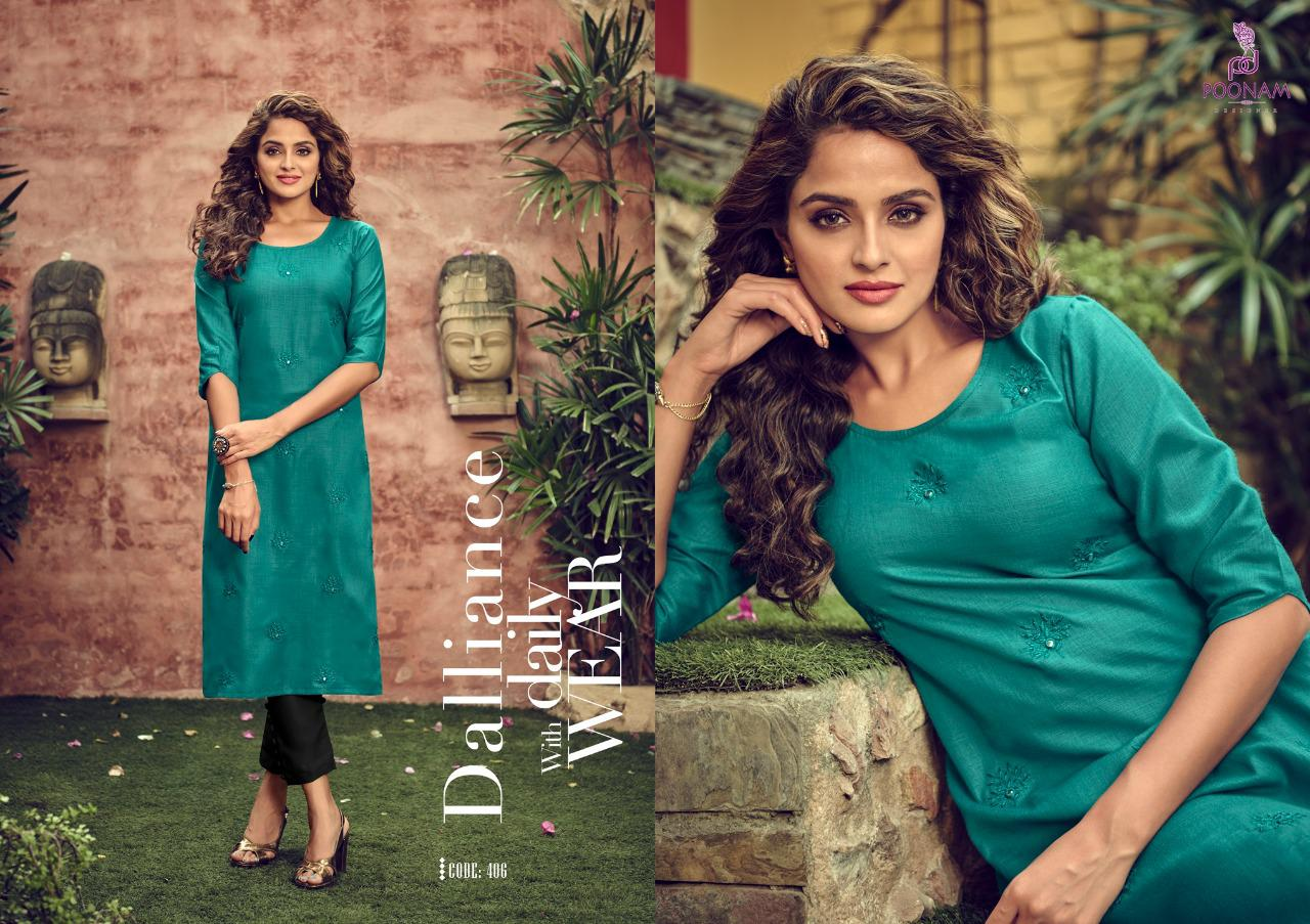 Poonam Designer Asiana Vol 4 Kurti Wholesale Catalog 12 Pcs 3 - Poonam Designer Asiana Vol 4 Kurti Wholesale Catalog 12 Pcs