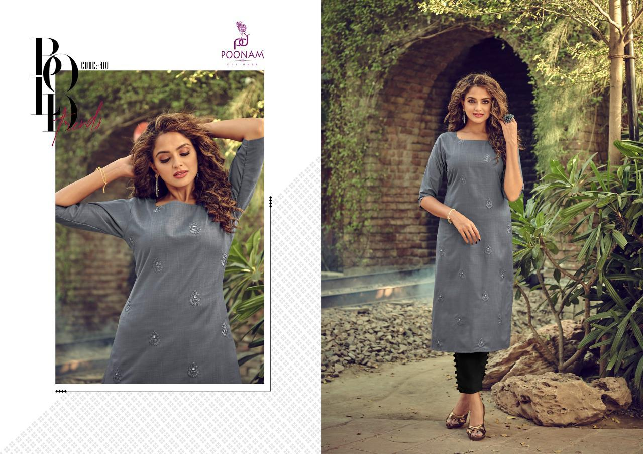 Poonam Designer Asiana Vol 4 Kurti Wholesale Catalog 12 Pcs 4 - Poonam Designer Asiana Vol 4 Kurti Wholesale Catalog 12 Pcs