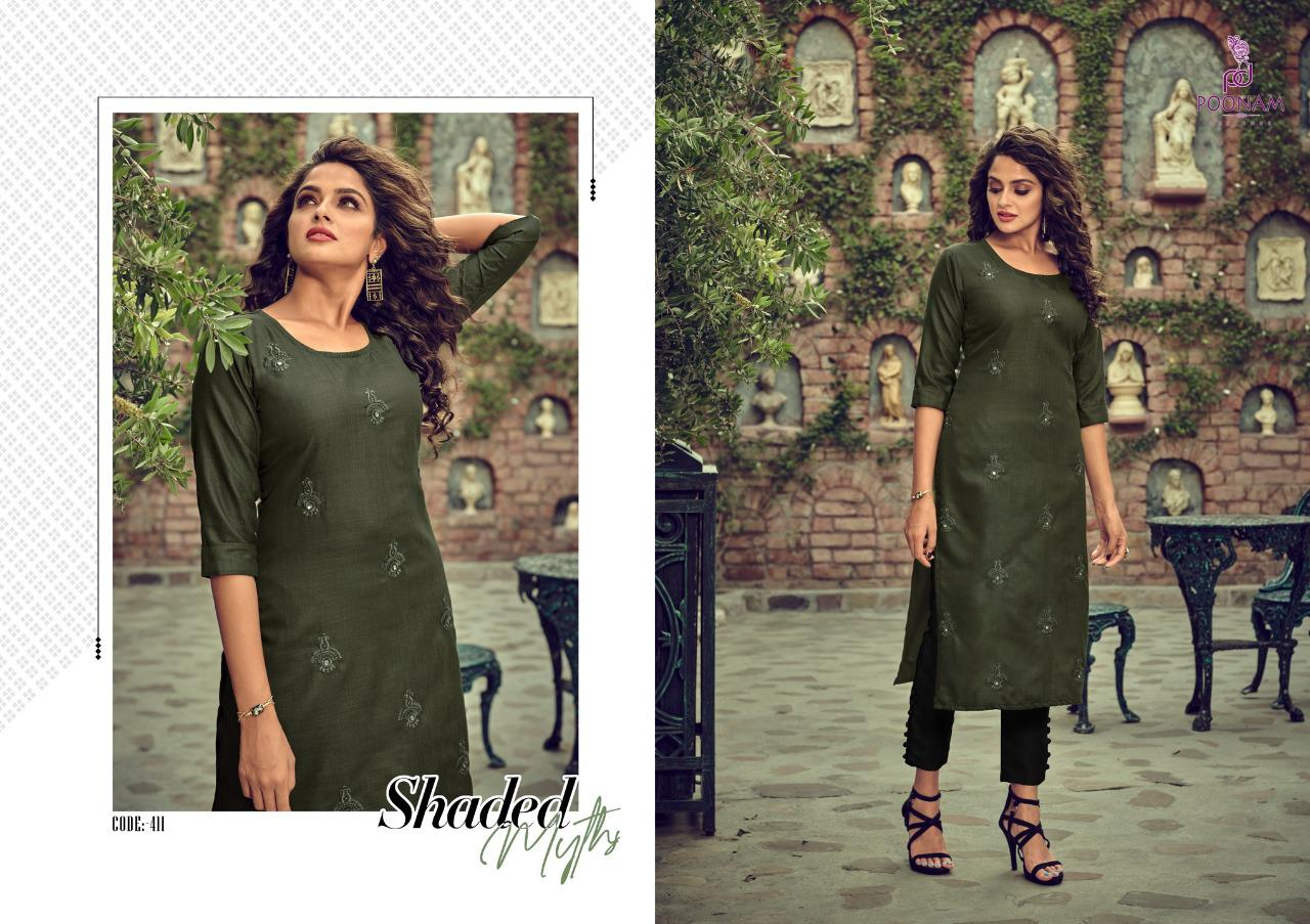 Poonam Designer Asiana Vol 4 Kurti Wholesale Catalog 12 Pcs 5 - Poonam Designer Asiana Vol 4 Kurti Wholesale Catalog 12 Pcs