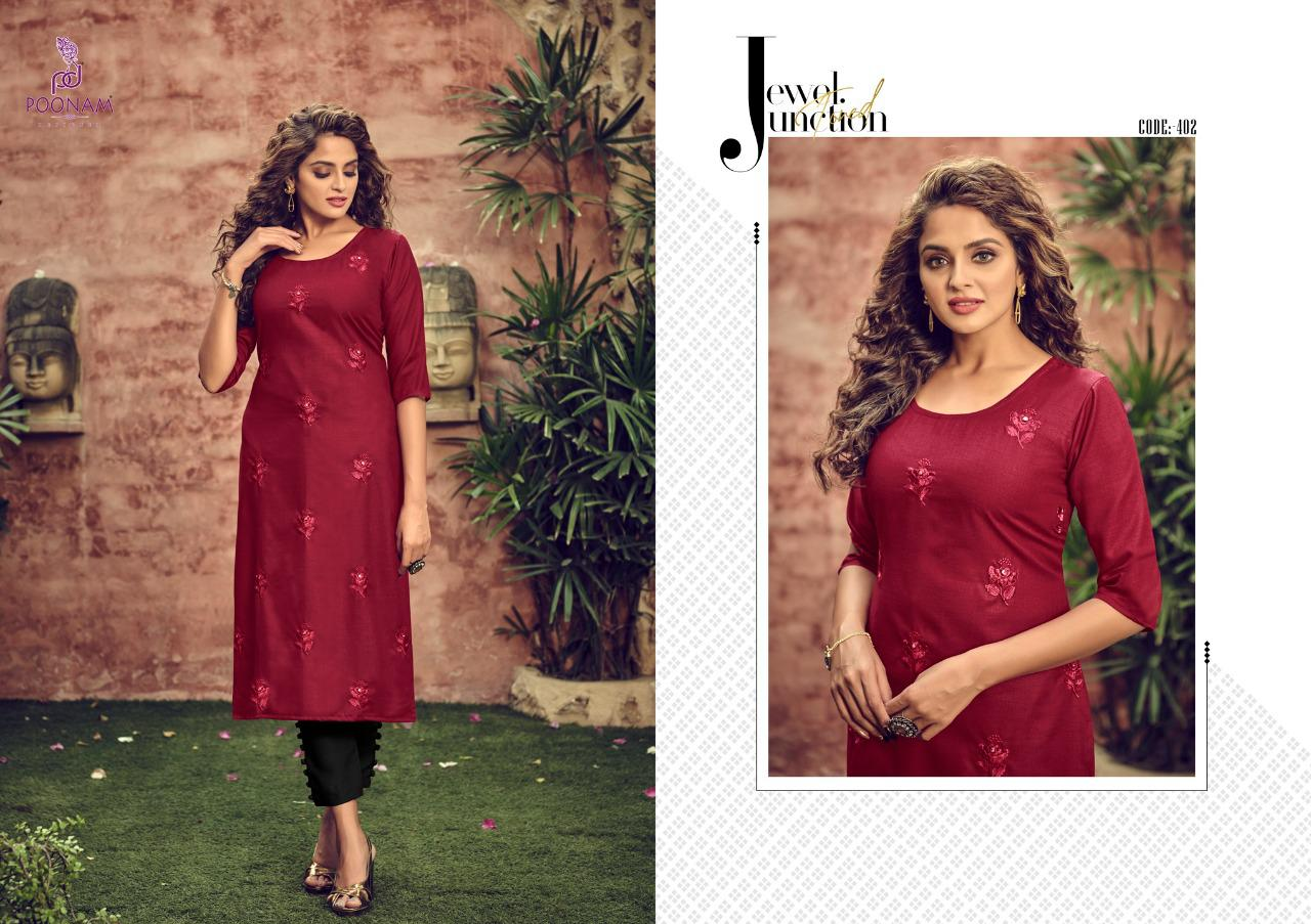 Poonam Designer Asiana Vol 4 Kurti Wholesale Catalog 12 Pcs 6 - Poonam Designer Asiana Vol 4 Kurti Wholesale Catalog 12 Pcs