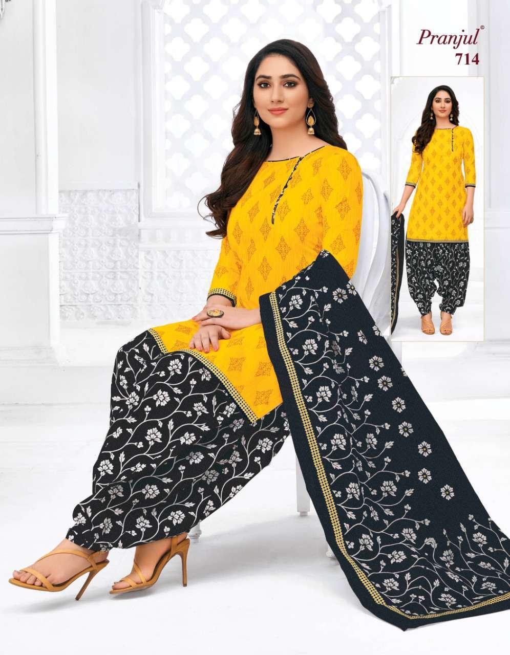 Pranjul Priyanka Vol 7 A Premium Collection Unstitched Suit Wholesale Catalog 18 Pcs 11 - Pranjul Priyanka Vol 7 A Unstitched Suit Wholesale Catalog 18 Pcs