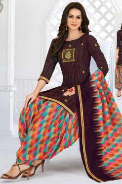 Pranjul Priyanka Vol 7 A Unstitched Suit Wholesale Catalog 18 Pcs