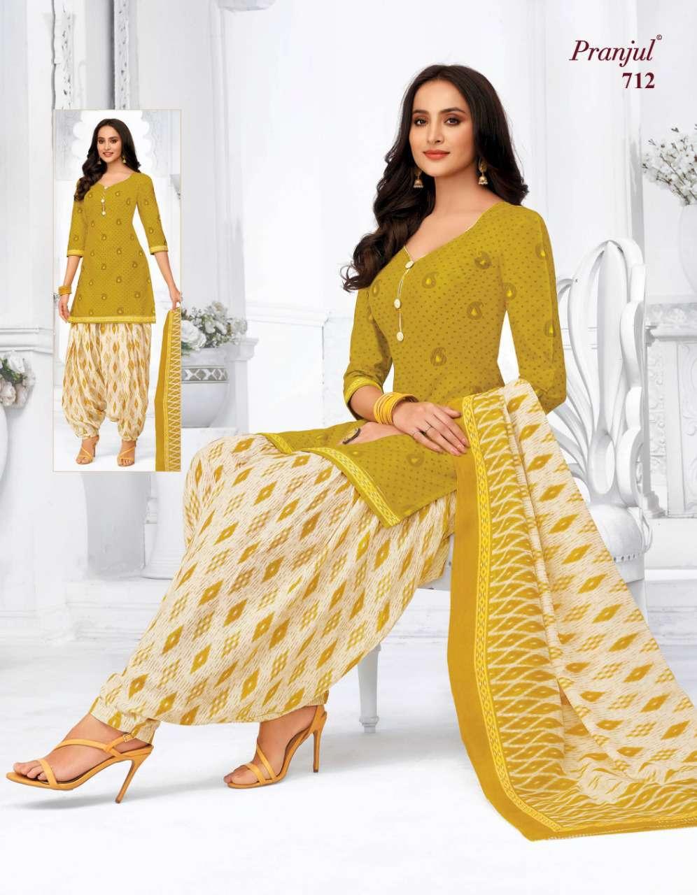 Pranjul Priyanka Vol 7 A Premium Collection Unstitched Suit Wholesale Catalog 18 Pcs 9 - Pranjul Priyanka Vol 7 A Unstitched Suit Wholesale Catalog 18 Pcs
