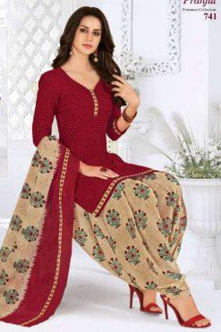 Pranjul Priyanka Vol 7 B Readymade Suit Wholesale Catalog 15 Pcs
