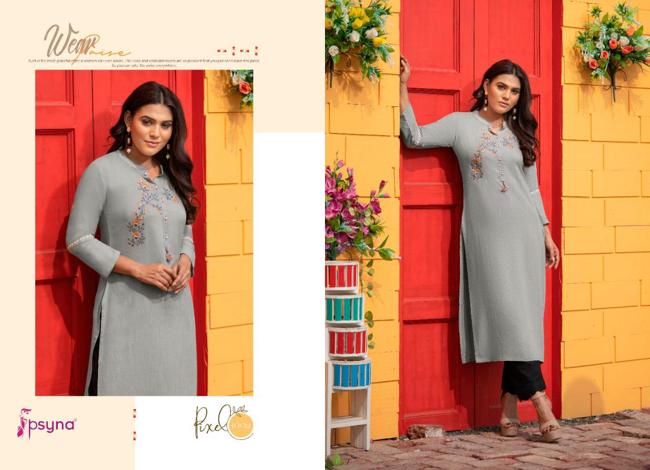 Psyna Pixel Kurti Wholesale Catalog 8 Pcs 3 - Psyna Pixel Kurti Wholesale Catalog 8 Pcs