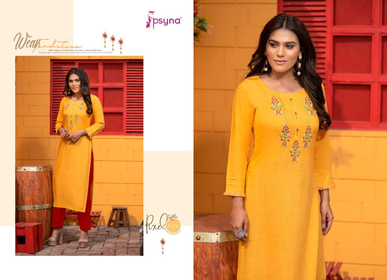 Psyna Pixel Kurti Wholesale Catalog 8 Pcs 8 - Psyna Pixel Kurti Wholesale Catalog 8 Pcs