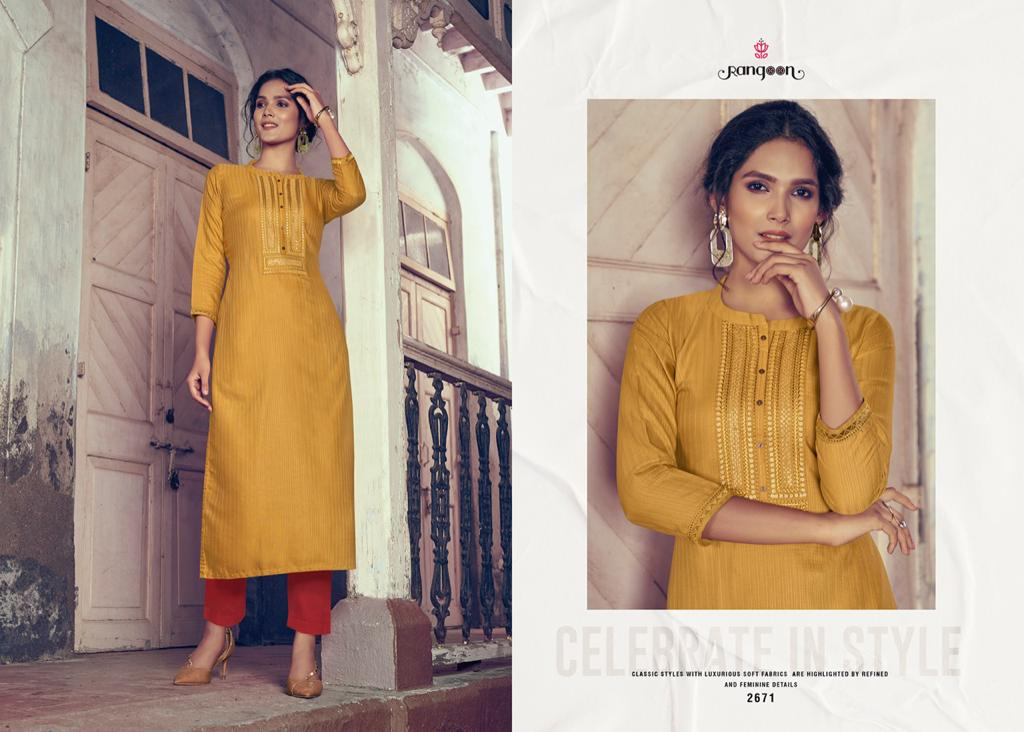 Rangoon Light Line Vol 4 Kurti by Kessi Wholesale Catalog 8 Pcs 10 - Rangoon Light Line Vol 4 Kurti by Kessi Wholesale Catalog 8 Pcs