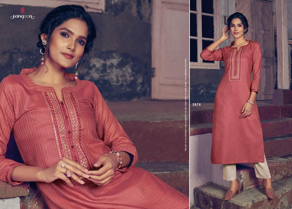 Rangoon Light Line Vol 4 Kurti by Kessi Wholesale Catalog 8 Pcs 2 - Rangoon Light Line Vol 4 Kurti by Kessi Wholesale Catalog 8 Pcs