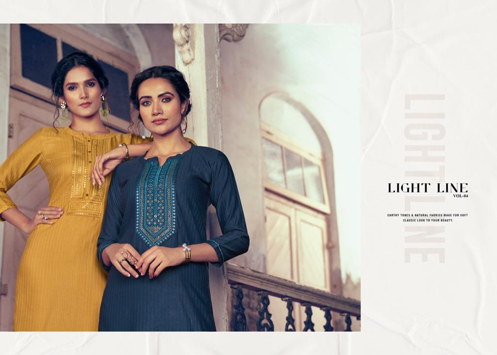 Rangoon Light Line Vol 4 Kurti by Kessi Wholesale Catalog 8 Pcs 8 - Rangoon Light Line Vol 4 Kurti by Kessi Wholesale Catalog 8 Pcs