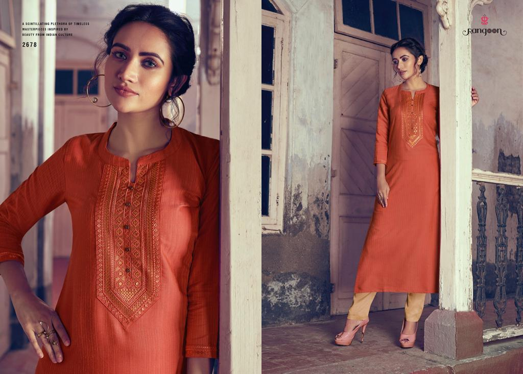 Rangoon Light Line Vol 4 Kurti by Kessi Wholesale Catalog 8 Pcs 9 - Rangoon Light Line Vol 4 Kurti by Kessi Wholesale Catalog 8 Pcs
