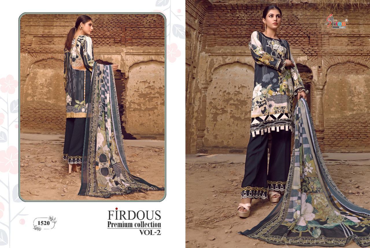 Shree Fabs Firdous Premium Collection Vol 2 Salwar Suit Wholesale Catalog 7 Pcs 14 - Shree Fabs Firdous Premium Collection Vol 2 Salwar Suit Wholesale Catalog 7 Pcs