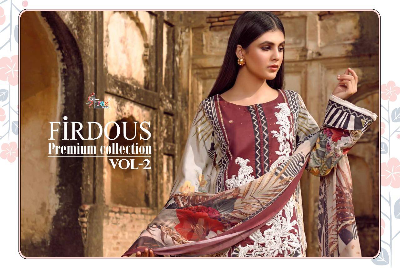 Shree Fabs Firdous Premium Collection Vol 2 Salwar Suit Wholesale Catalog 7 Pcs 3 - Shree Fabs Firdous Premium Collection Vol 2 Salwar Suit Wholesale Catalog 7 Pcs